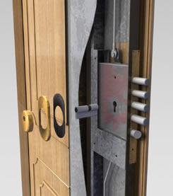 cerradura lateral